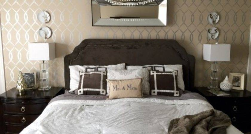 Accent Wall Ideas Bedroom Home Delightful