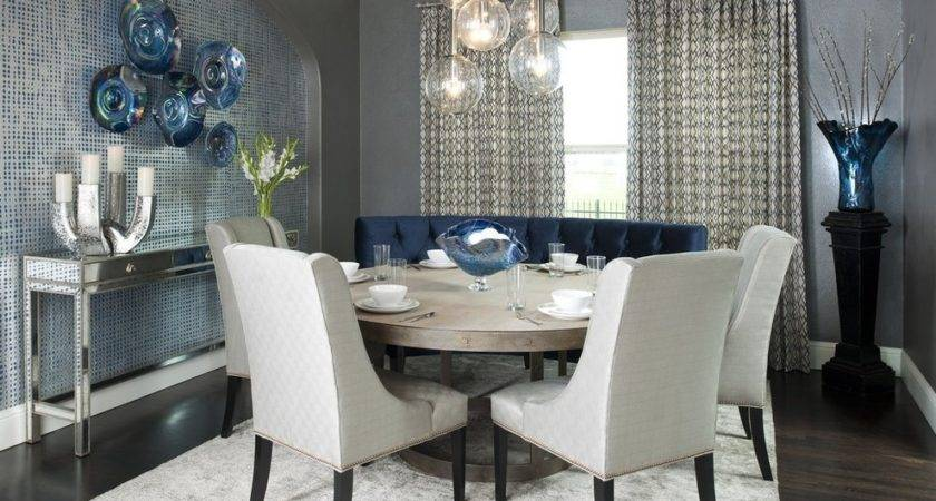 Accent Wall Ideas Modern Small Dining Room