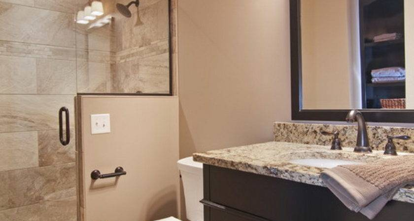Accessible Basement Bathroom Ideas Tasteful Less