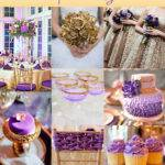 Add Glamour Your Wedding Gold Dazzling