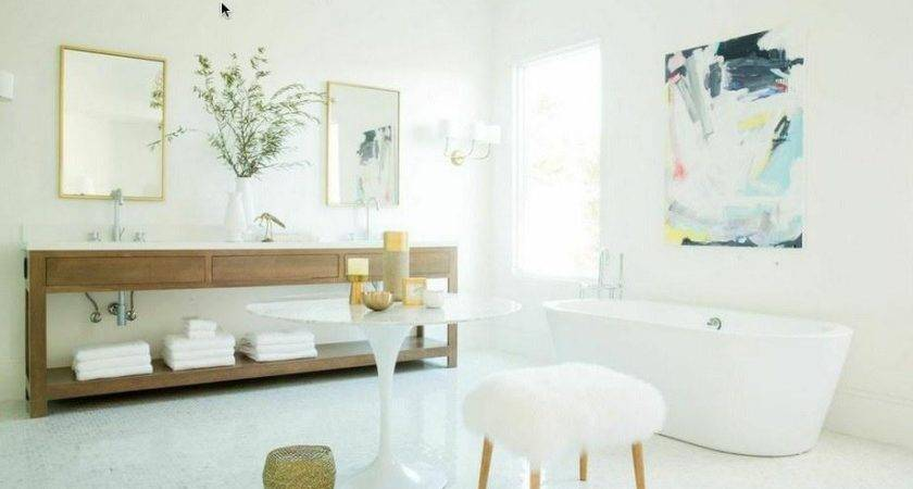 Add Heavenly Spa Accents Your Bathroom Summer