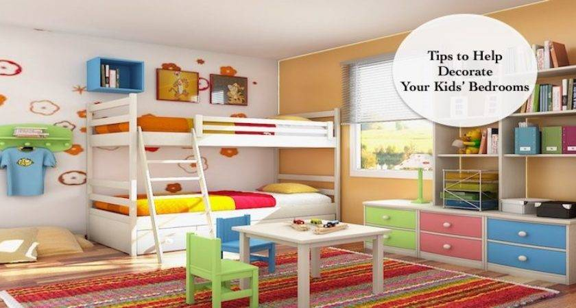 Adorable Ways Decorate Your Kids Bedrooms Cleverly