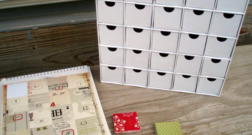 Advent Calendar Make Your Own Template
