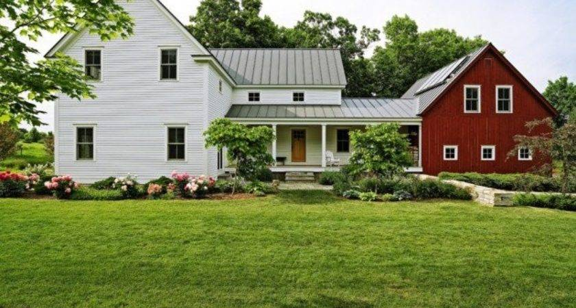 Aesthetic Farmhouse Exterior Designs Showing Luxury