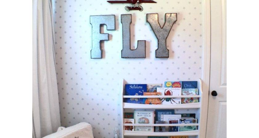 Airplane Themed Toddler Room Project Nursery