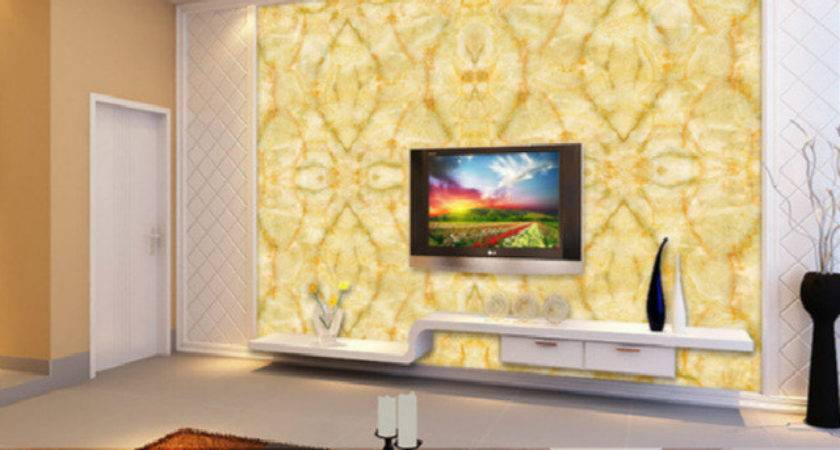 Aliexpress Buy Large Yellow Marble Texture Design