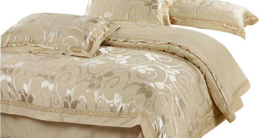 Aliexpress Buy Luxury Silk Bedding Set Pcs