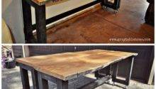 Ana White Diy Convertible Bar Pub Table Projects