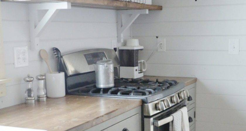 Ana White Open Shelves Our Cabin Kitchen Diy Projects