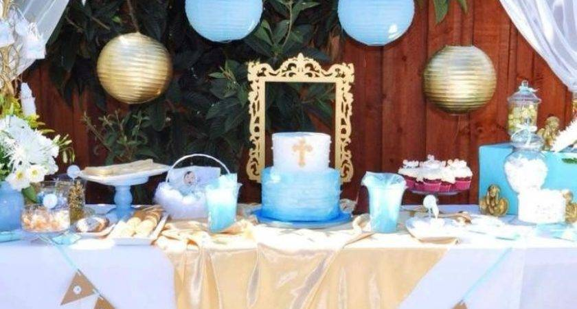Angel Themed Baptism Party Ideas Superior