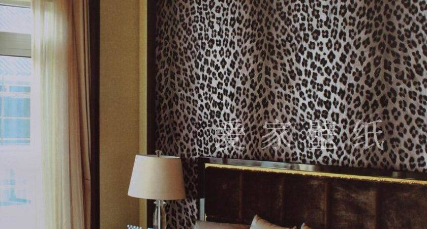 Animal Print Bedroom