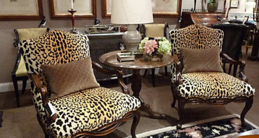 Animal Print Chairs Living Room Home Design