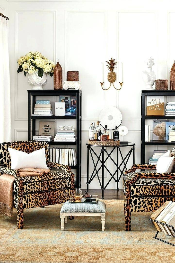 Animal Print Chairs Living Room Leopard - Designs Chaos