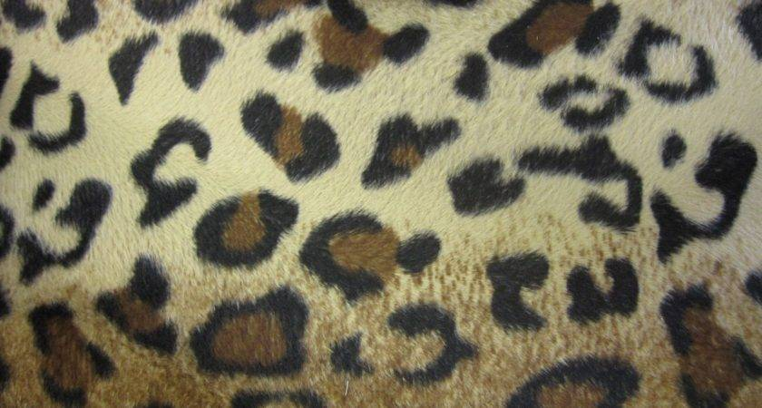 Animal Print Fur Effect Curtain Fabric Upholstery Material