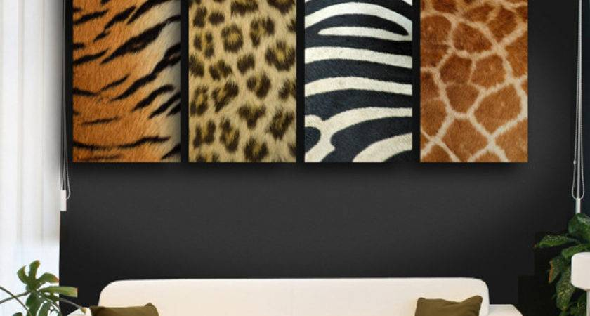 Animal Prints Liven Your Interiors