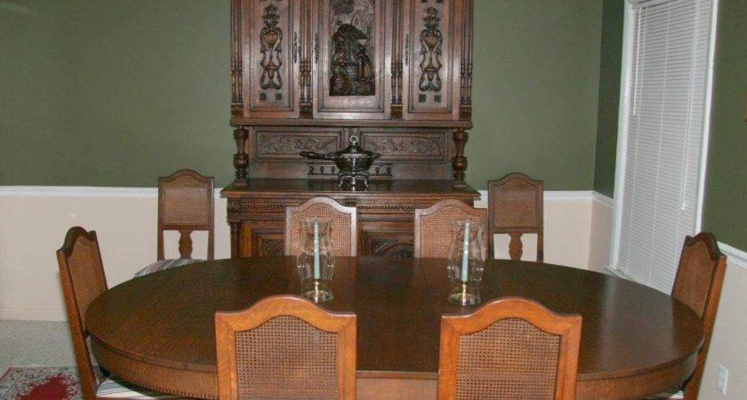 Antique Dining Room Furniture Table Styles Home