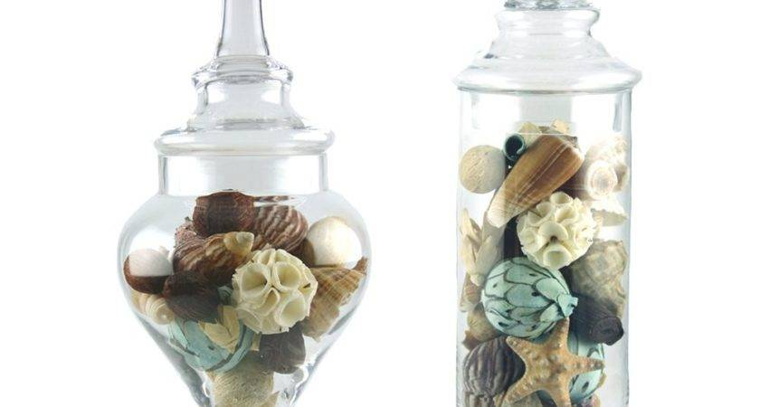 Apothecary Jars Set Candy Bathroom Kitchen Storage