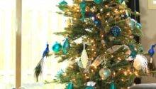 Arctic Teal Christmas Decoration Ideas Frugal Mom