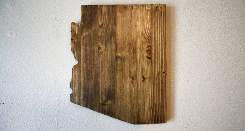 Arizona Wall Decor Home Wood