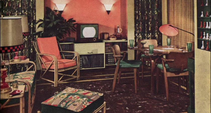 Armstrong Living Room Mid Century Style Decorating