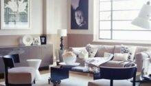 Art Deco Style Muted Pink Living Room