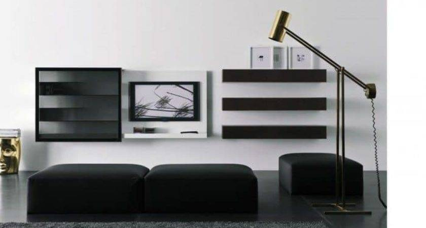 Attractive Wall Mount Ideas Living Room