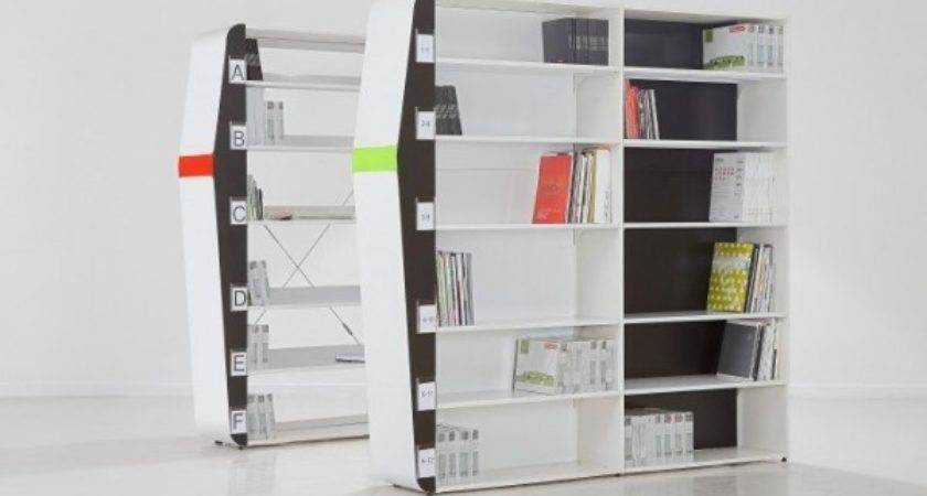 Award Winning Guide Library System Book Rack Design Speech