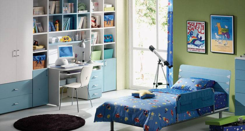 Awesome Kids Bedroom Decorating Ideas Boys Design