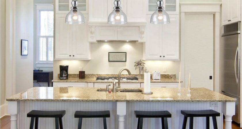 Awesome Pendant Lighting Over Kitchen Island Also Mini