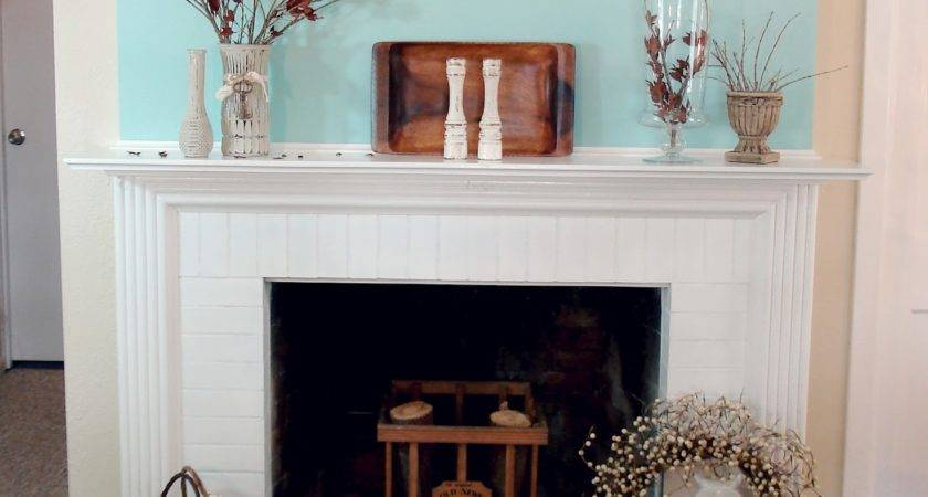 Awesome Plans White Fireplace Mantel Chimney