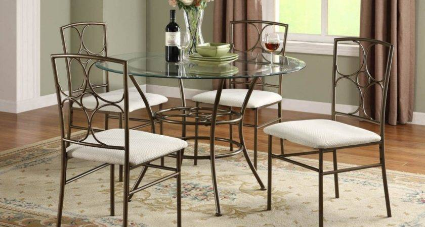 Awesome Round Dining Sets Small Spaces Light