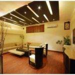 Awesome Unique Shape Wooden False Ceiling Designs