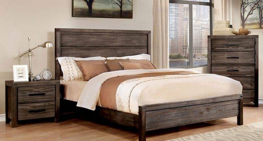 Barrison Industrial Style Bedroom Furniture