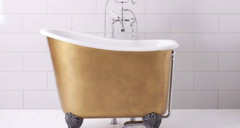 Bathroom Ideas Gold Fiberglass Small Stand Alone Tub