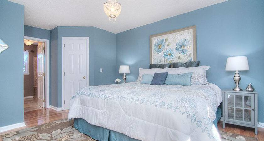 Beautiful Blue White Bedroom Ideas