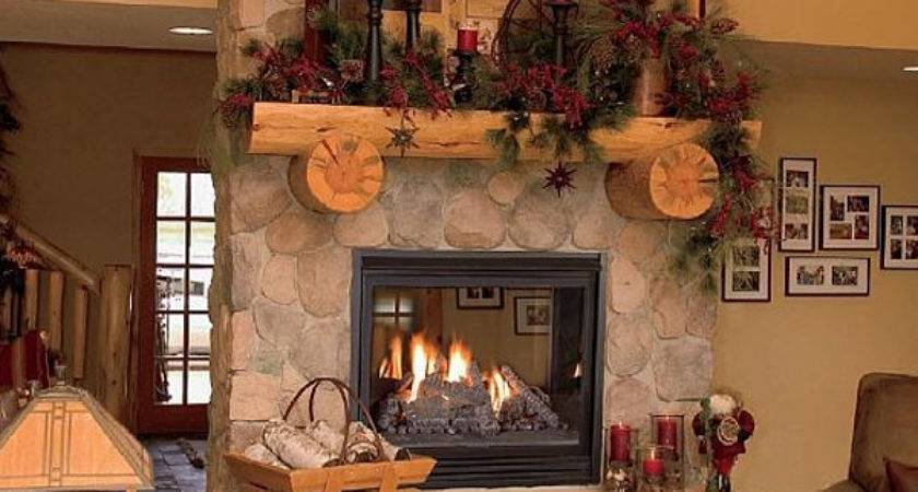 Beautiful Fireplaces Design Christmas Ornaments