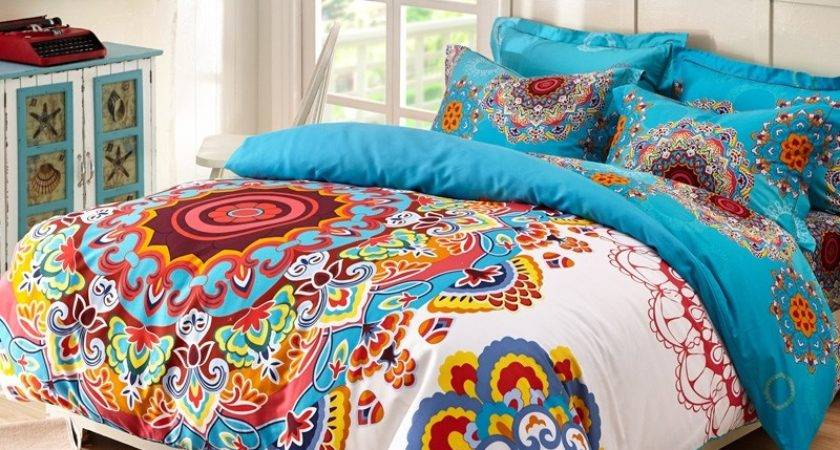 Beautiful Gypsy Style Bedding Bedroom Atzine