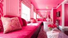 Beautiful Pink Living Room Design Home Inspirations