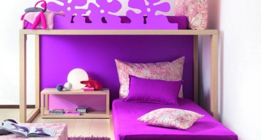 Beautiful Purple Bedroom Ideas Adults Retro Girls