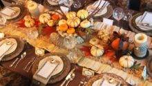 Beautiful Thanksgiving Table Photos