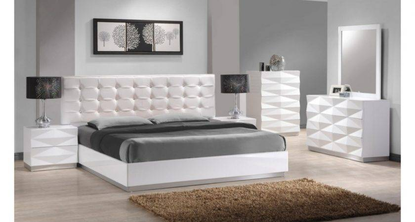 Beautiful White King Bedroom Set Exotic Also