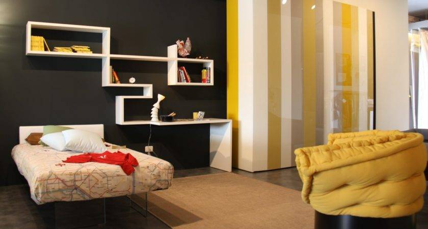 Beautiful Yellow Grey Black Bedroom Decobizz