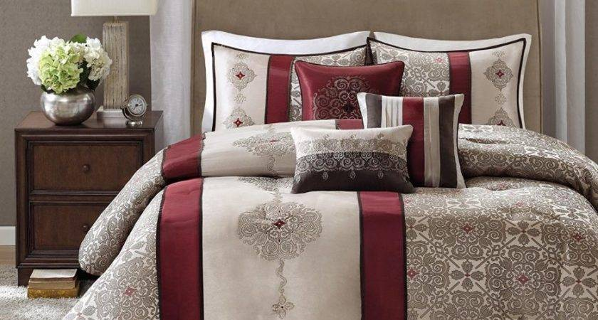Bedroom Awesome Cheap Red Bedding Sets Packages