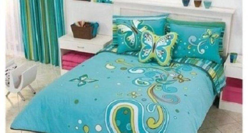 Bedroom Blue Green Decorating Ideas Girls