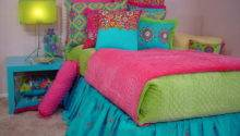 Bedroom Bright Colorful Bedding Twin Girl Pick
