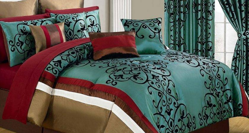 Bedroom Classy Cheap Red Bedding Sets Grey Queen