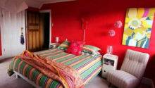Bedroom Decorating Ideas Bright Colorful Bedding