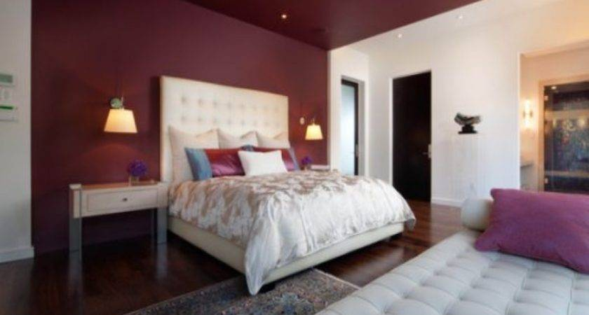 Bedroom Decorating Paint Colors Burgundy Grey