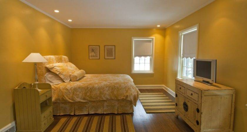 Bedroom Formidable Orange Yellow