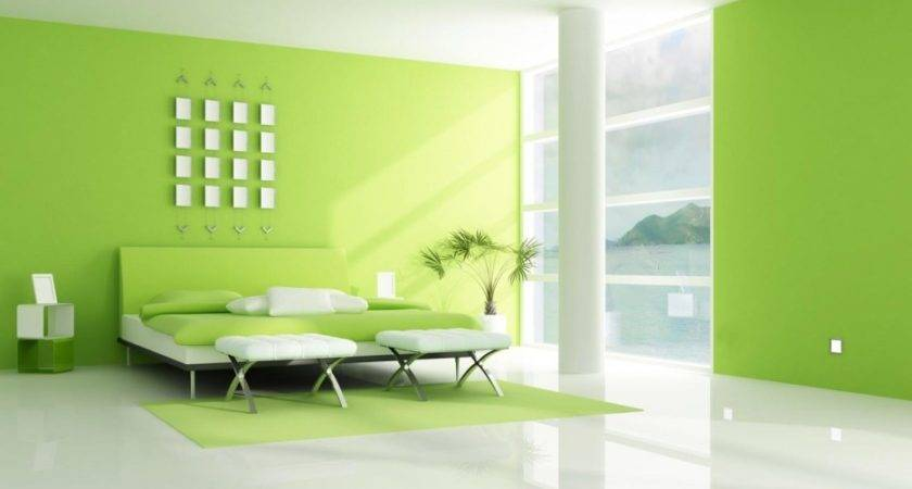 Bedroom Foxy Lime Design Decoration